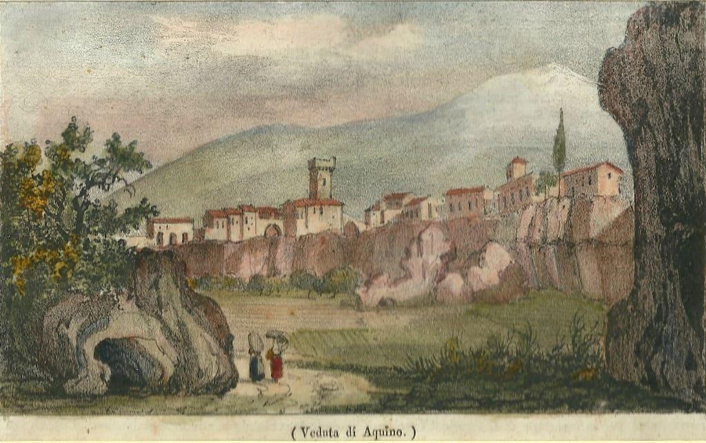 Piante Da Frutto Antiche : Veduta di aquino rit e ridotta storie racconti
